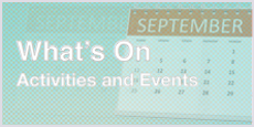 Our Calendar of events